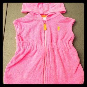 Carter's baby terry-cloth robe. 12 mo.